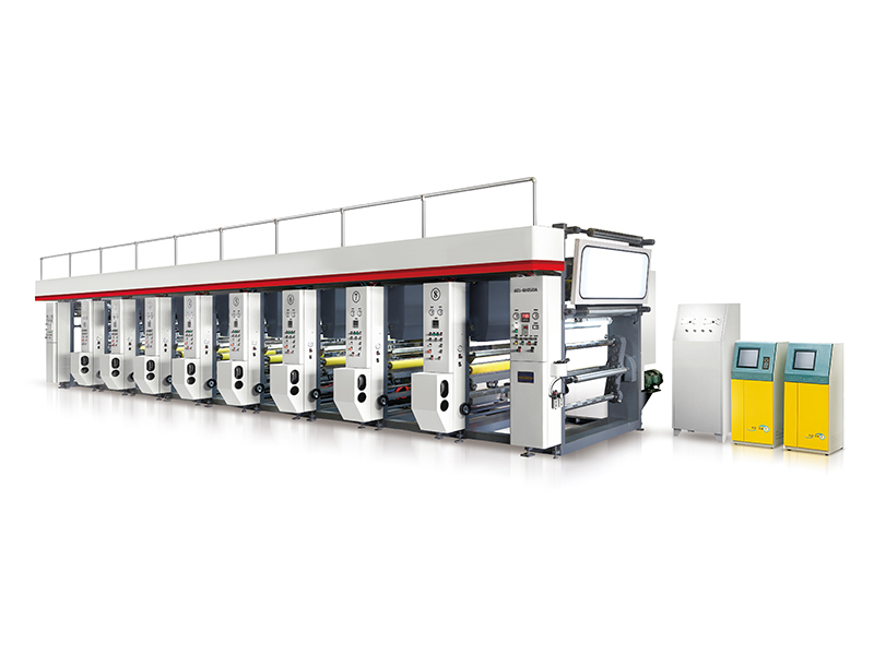 AZJ-81050A 8 Color Rotogravure Printing Machine